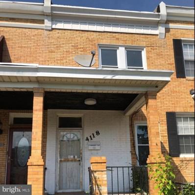 4118 Eierman Avenue, Baltimore, MD 21206 - #: MDBA512538