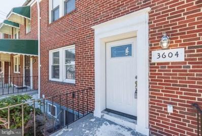 3604 Bonview Avenue, Baltimore, MD 21213 - #: MDBA512574