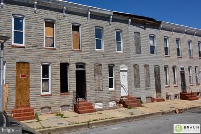 1922 Christian Street, Baltimore, MD 21223 - #: MDBA512638