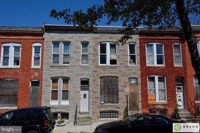 2126 W Fairmount Avenue, Baltimore, MD 21223 - #: MDBA512646