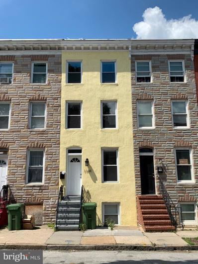 1144 W Lombard Street, Baltimore, MD 21223 - #: MDBA512990