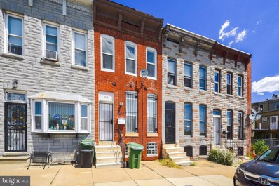 1610 W Franklin Street, Baltimore, MD 21223 - #: MDBA513062