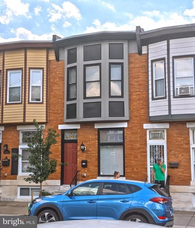610 S Linwood Avenue, Baltimore, MD 21224 - #: MDBA513186