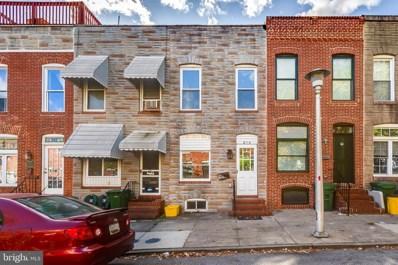 814 S Port Street, Baltimore, MD 21224 - #: MDBA513502