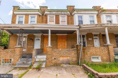 2803 W Mulberry Street, Baltimore, MD 21223 - #: MDBA513670