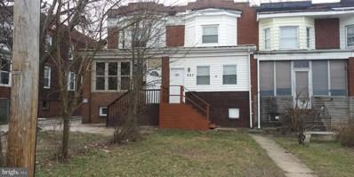 527 Maude Avenue, Baltimore, MD 21225 - #: MDBA513680