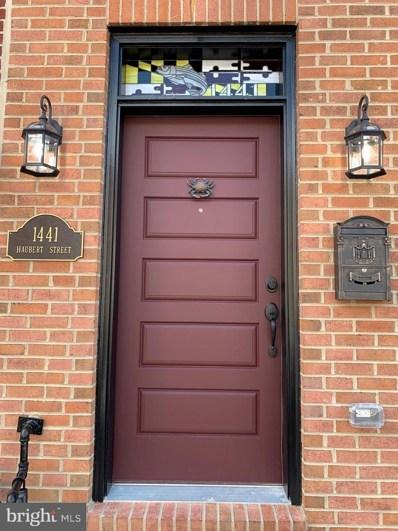 1441 Haubert Street, Baltimore, MD 21230 - #: MDBA514072