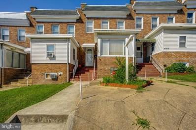 4215 Berger Avenue, Baltimore, MD 21206 - #: MDBA514414
