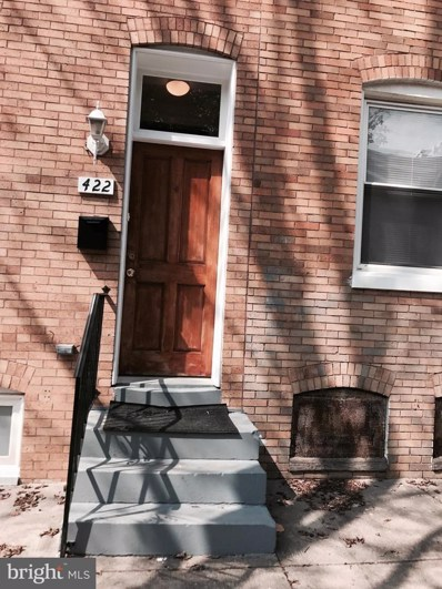 422 E Lanvale Street, Baltimore, MD 21202 - MLS#: MDBA514716