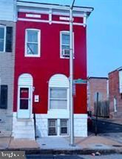 1806 E Lanvale Street, Baltimore, MD 21213 - #: MDBA514734