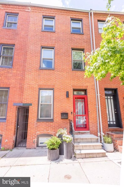 322 S Chester Street, Baltimore, MD 21231 - #: MDBA514876