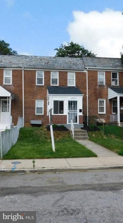 1002 N Augusta Avenue, Baltimore, MD 21229 - #: MDBA514906