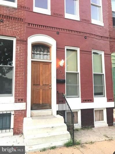 406 E Lanvale Street, Baltimore, MD 21202 - #: MDBA515352
