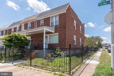 828 Tolna Street, Baltimore, MD 21224 - #: MDBA515500