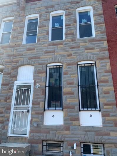 1912 E Lanvale Street, Baltimore, MD 21213 - #: MDBA515612