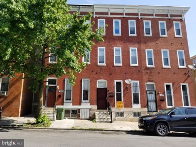 1614 W Lexington Street, Baltimore, MD 21223 - #: MDBA515718