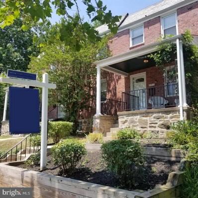 902 Chestnut Hill Avenue, Baltimore, MD 21218 - #: MDBA516122