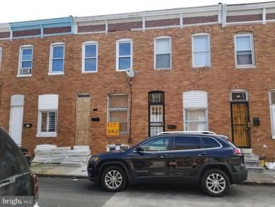 815 N Curley Street, Baltimore, MD 21205 - #: MDBA516126