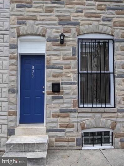 823 N Port Street, Baltimore, MD 21205 - #: MDBA516196
