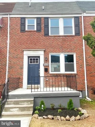 5326 Gist Avenue, Baltimore, MD 21215 - #: MDBA516748
