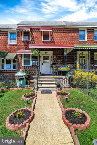 1554 Elrino Street, Baltimore, MD 21224 - #: MDBA516796