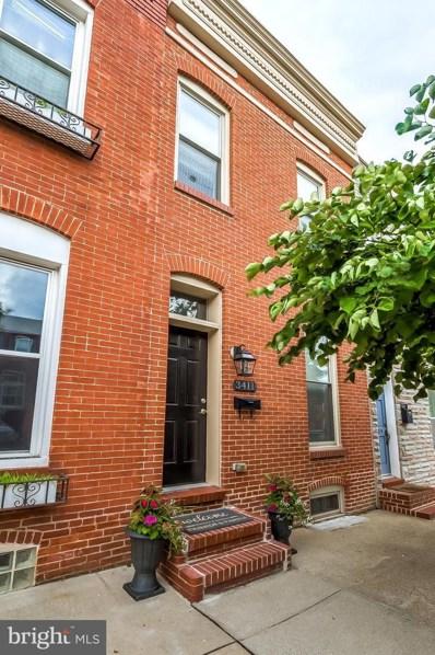 3411 Elliott Street, Baltimore, MD 21224 - #: MDBA517064