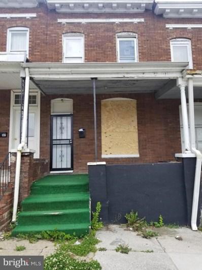 2939 W Lanvale Street, Baltimore, MD 21216 - #: MDBA517124