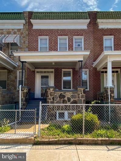 1642 Montpelier Street, Baltimore, MD 21218 - #: MDBA517252
