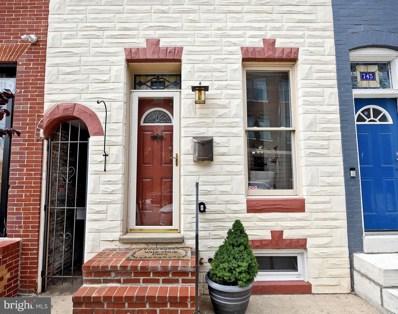 743 W Cross Street, Baltimore, MD 21230 - #: MDBA517586