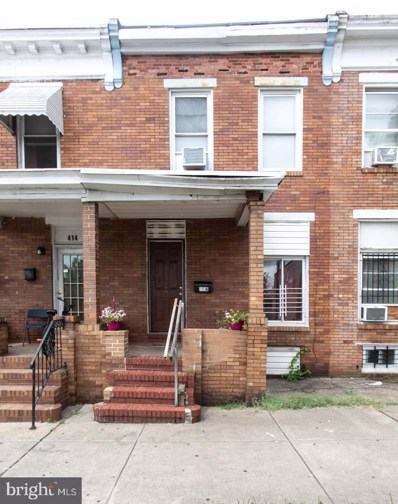 416 N Highland Avenue, Baltimore, MD 21224 - #: MDBA517958