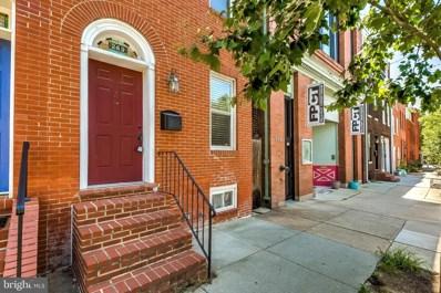 249 S Ann Street, Baltimore, MD 21231 - #: MDBA518044