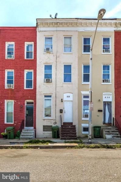 828 N Stricker Street, Baltimore, MD 21217 - #: MDBA518148
