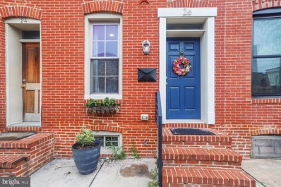 26 E Heath Street, Baltimore, MD 21230 - #: MDBA518358