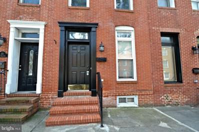 33 E Fort Avenue, Baltimore, MD 21230 - #: MDBA518864