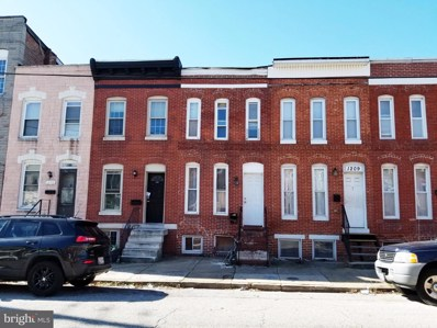 1207 W Cross Street, Baltimore, MD 21230 - #: MDBA518892