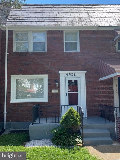 4502 Garden Drive, Baltimore, MD 21215 - #: MDBA519106