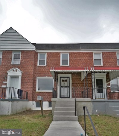 4303 Eldone Road, Baltimore, MD 21229 - #: MDBA519280