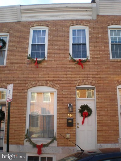 744 S Curley Street, Baltimore, MD 21224 - #: MDBA519320