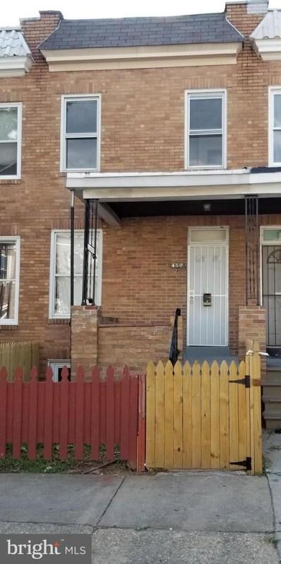 450 S Bentalou Street, Baltimore, MD 21223 - #: MDBA519898