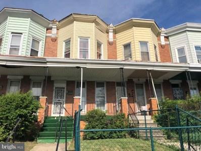 1634 N Ellamont Street, Baltimore, MD 21216 - #: MDBA520080