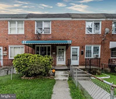 4711 Ivanhoe Avenue, Baltimore, MD 21212 - #: MDBA520198