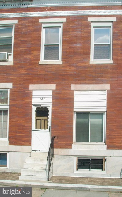 529 N Kenwood Avenue, Baltimore, MD 21205 - #: MDBA520288