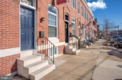 1604 E Clement Street, Baltimore, MD 21230 - #: MDBA520526