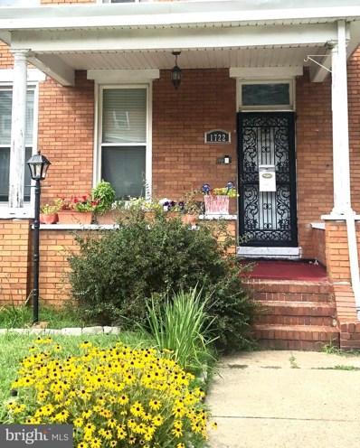 1722 E 32ND Street, Baltimore, MD 21218 - MLS#: MDBA521104