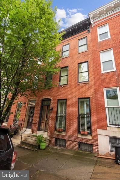 1713 W Lombard Street, Baltimore, MD 21223 - #: MDBA521304