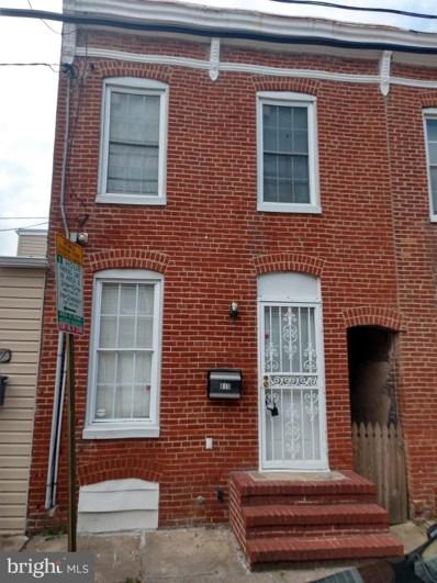 819 Mangold Street, Baltimore, MD 21230 - #: MDBA521314
