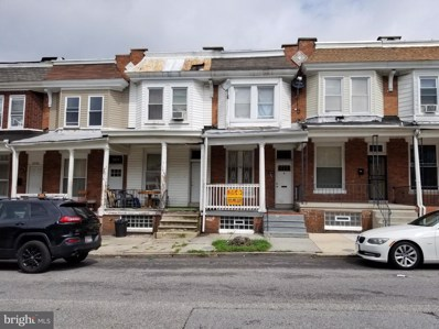 2220 W Fayette Street, Baltimore, MD 21223 - #: MDBA521462