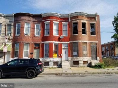1812 W Lafayette Avenue, Baltimore, MD 21217 - #: MDBA521836