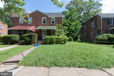 6209 Hopeton Avenue, Baltimore, MD 21215 - #: MDBA521946