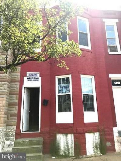 2139 W Fayette Street, Baltimore, MD 21223 - #: MDBA522310